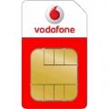 Vodafone Prepaid startpakket + gratis earphone e 10