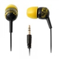 iFrogz earplugs Crew Graffiti yellow