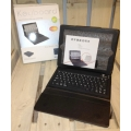 Hyper iPad 3 leathercase + keyboard black