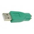 PS/2 naar USB connector voor keyboard/mouse